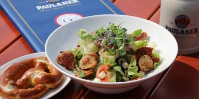 Weisswurst Salat immer Dienstag bis Freitag